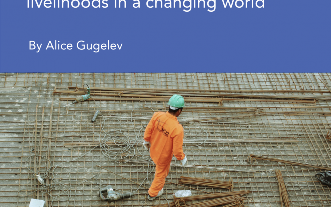 Creating jobs and sustainable livelihoods in a changing world